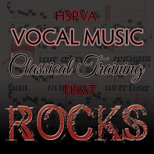 HSPVA Classical Rocks Logo