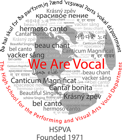 HSPVA Vocal Music Logo