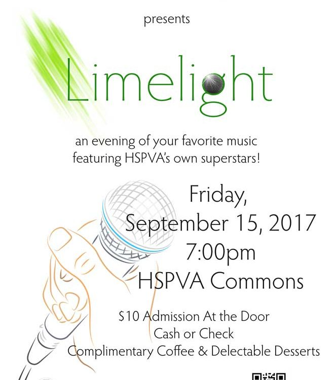 HSPVA Limelight Poster 2017