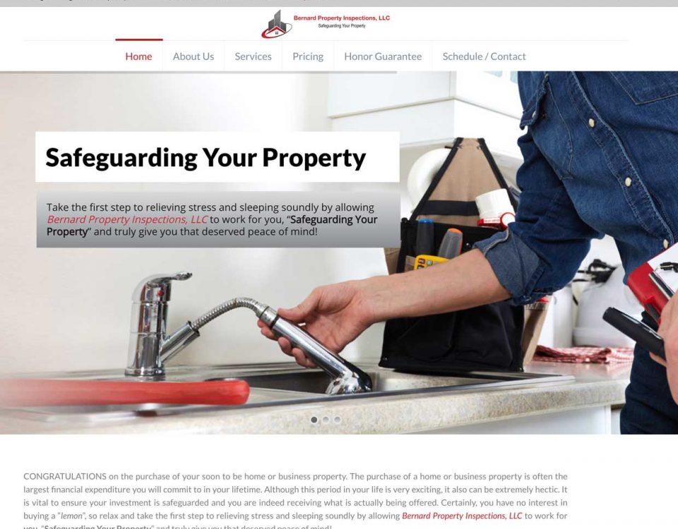 bernard property inspections homepage
