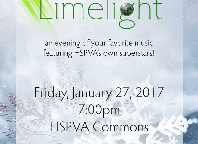 HSPVA Winter Limelight Poster
