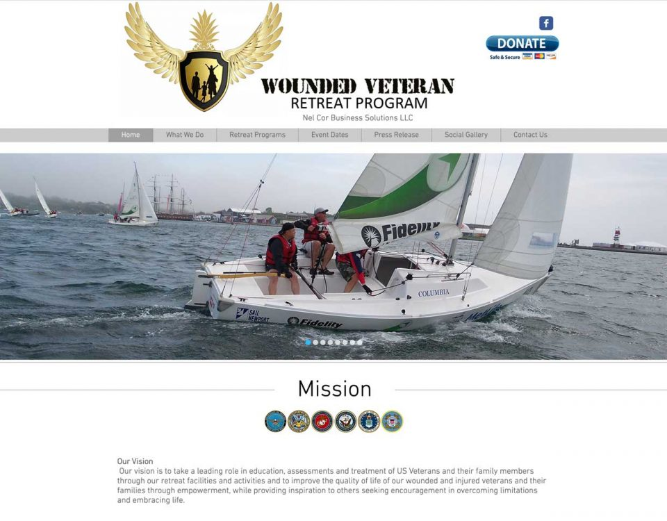 wounded veteran retreat program homepage