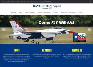 Bayou city flyers homepage