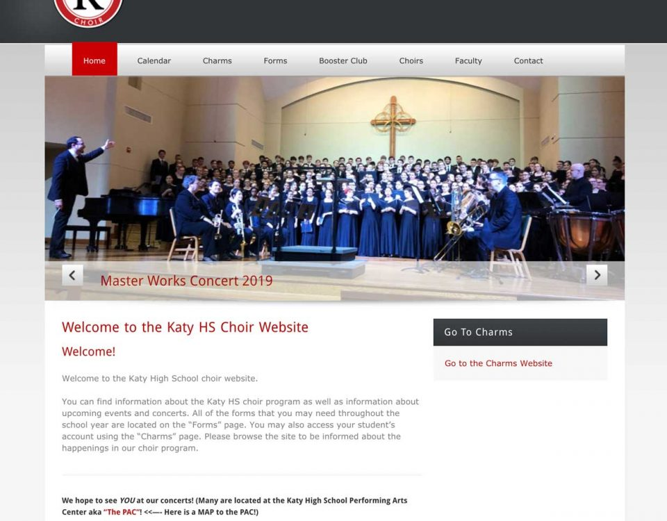 Katy HS Choir