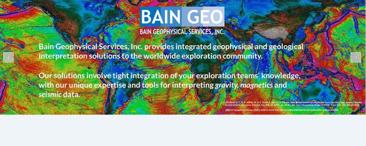 Bain Geo website
