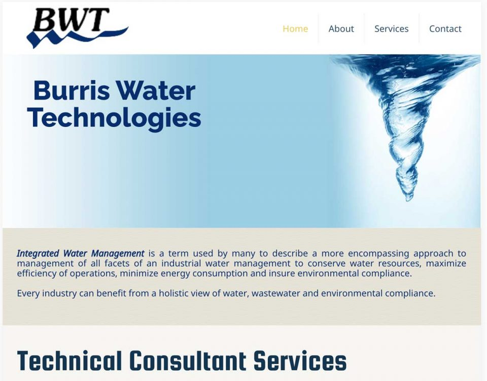 Burris Water tech website