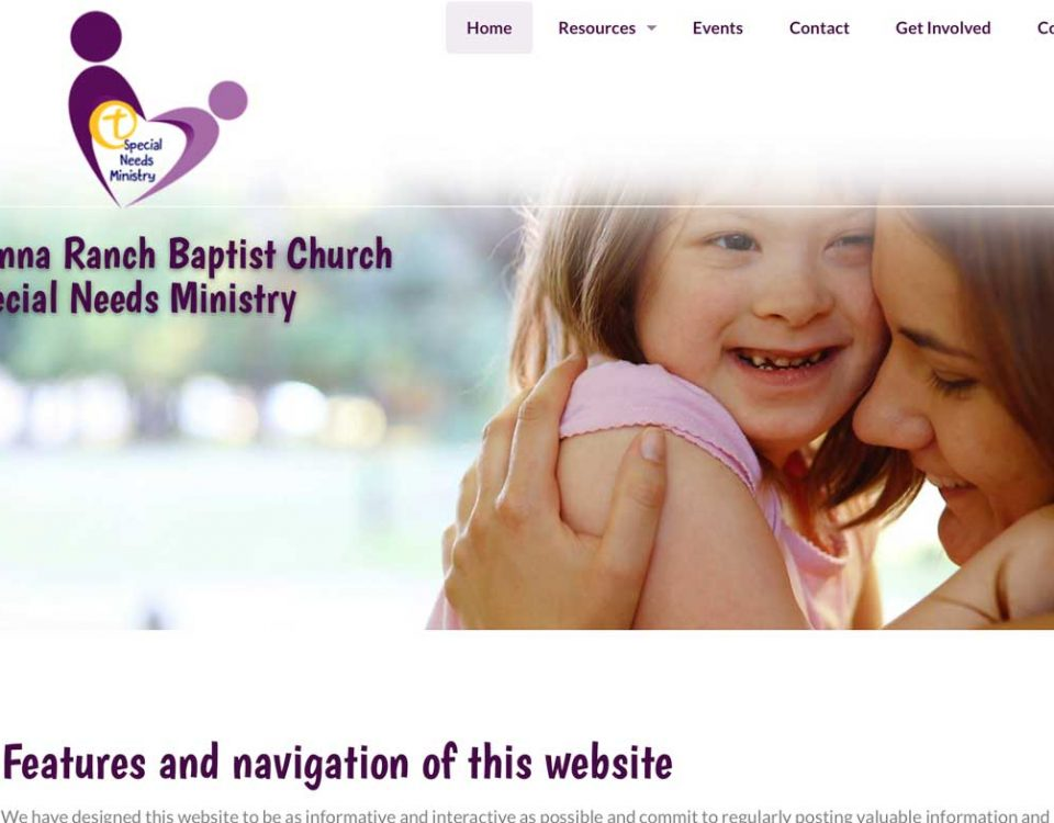 Sienna Ranch Special Needs website
