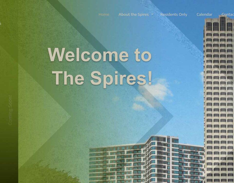 The Spires website