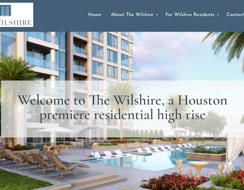 The Wilshire High Rise website image
