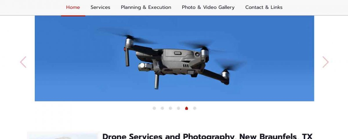2nd career drone services website